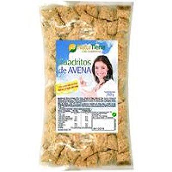 NaturTierra Cuadraditos de avena Paquete 250 g