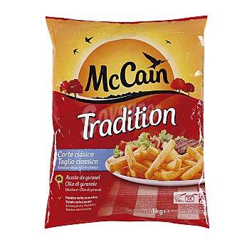Mc Cain Tradition patatas congeladas Bolsa 1 kg