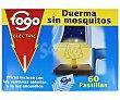 Recambio de repelente de mosquitos eléctrico en pastillas 60 pastillas Fogo