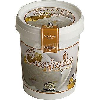 Ultzama Helado de cuajada de nueces con miel Tarrina 500 ml