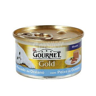 Purina Gourmet Alimento húmedo con pescado del océano Lata de 85 g