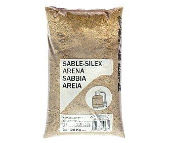 GLOBALPLANT Saco de 25 kilos de arena de sílice especial para depuradoras 1 Unidad