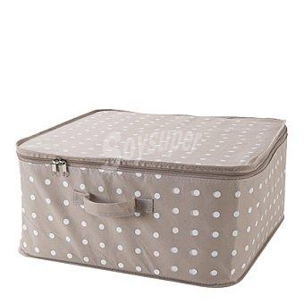 COMPACTOR Caja de ordenación con tapa de cremallera 46x46 cm 1 ud