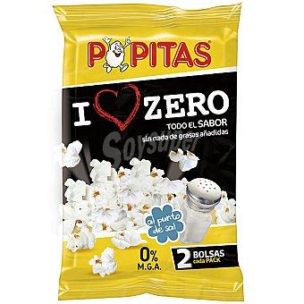 Borges Popitas Palomitas 0% grasa al punto de sal Pack 2 bolsas de 75 g