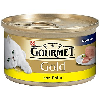 Gourmet Purina Comida para gatos mousse pollo Lata de 85 g