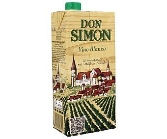 DON SIMON Vino blanco Envase de 1 l