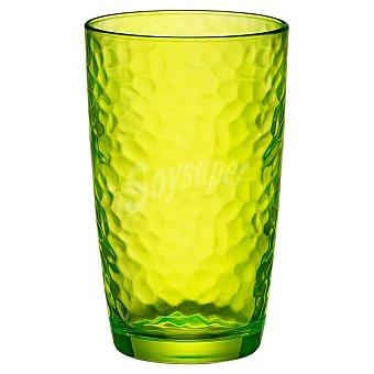 BORMIOLI Vaso Alto de cristal en color verde 49 cl 1 Unidad