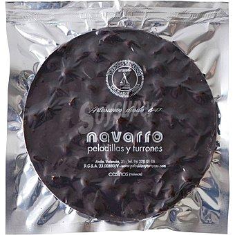 Navarro Torta con chocolate negro y almendra Envase 300 g