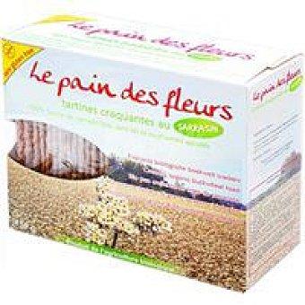 PAN de FLORE Tostadas de pan de flores sin sal Paquete 150 g