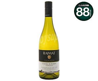 Raimat Vino blanco chardonnay con denominación de origen de Costers del Segre Botella de 75 centilitros