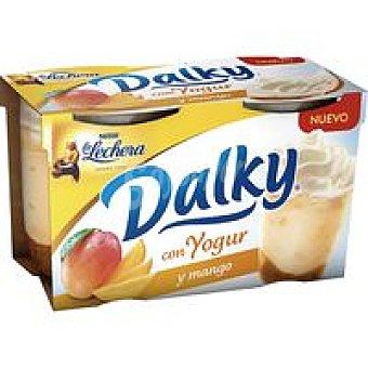 La Lechera Nestlé Dalky con yogur-mango Pack 2 x 100 g