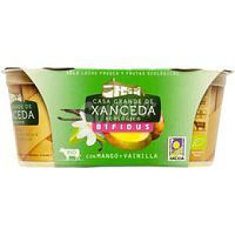 CASA G. de XANCEDA Bifidus bio mango-vainilla Pack 2x125 g