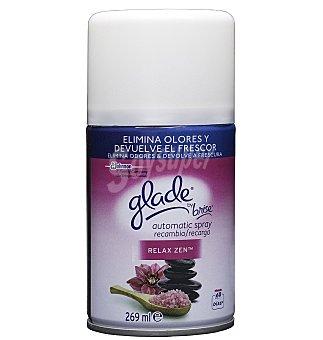 Glade Brise Ambientador automático spray Relax Zen recambio 1 UNI