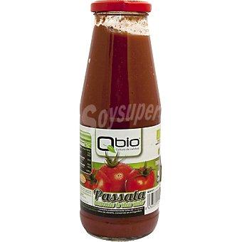 Qbio Passata de tomate triturado ecológico sin gluten Envase 700 ml