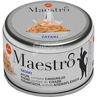 Affinity Atún con cangrejo para gato Tataki Maestro Lata 80 g