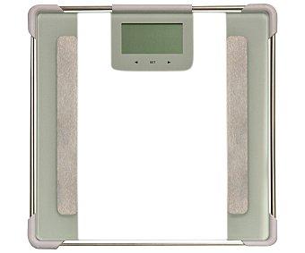 Laica Báscula electrónica de cristal para baño, modelo PS5010, mide la composición corporal 1 Unidad