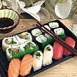 Miyako tray 16 unidades bandeja 400 g bandeja 400 g Sushispot