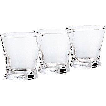 LUMINARC Carajillo vasos de vidrio 11 cl set de 3 unidades 11 cl