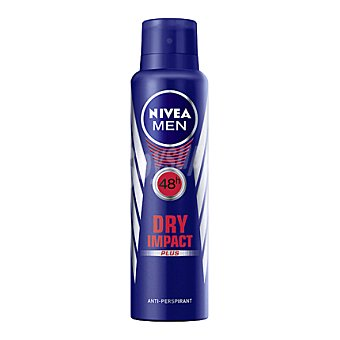 Nivea For Men Desodorante Dry Impact anti-transpirante hombre Spray 200 ml