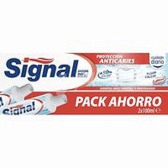 Signal Dentífrico anticaries pack 2x75 ml