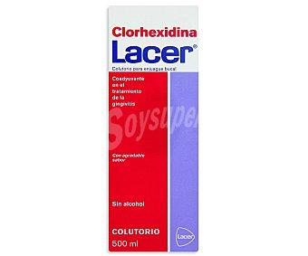 Lacer Colutorio para enjuague bucal (coadyuvante en el tratamiento de la gingivitis) 500 Mililitros