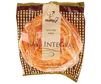 ITALIA 7 Base de pizza integral cocida a la piedra 125 gramos