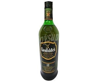 Glenfiddich Whisky Single Malt 12 Años glendfidich Botella de 1 litro