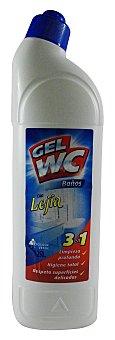 Bosque Verde Limpiador gel wc y baños con lejia *verano* Botella 1250 cc