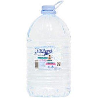 Fontarel Agua mineral natural Garrafa 5 litros