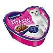 Poesie comida húmeda para gatos adultos con pescado pasta y tomate Lata 85 g Vitakraft