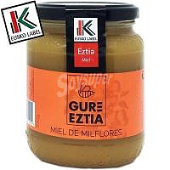 Gure Eztia Miel natural mil flores Eusko Label Frasco 500 g