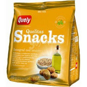 Quely Snacks integral con sésamo Bolsa 70 g