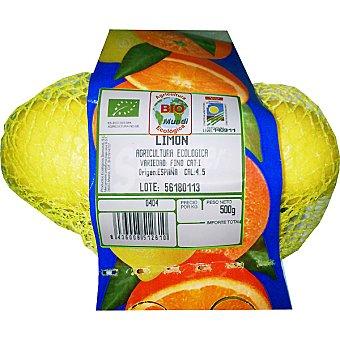 BIOMUNDI Limones ecológicos Bolsa 500 g