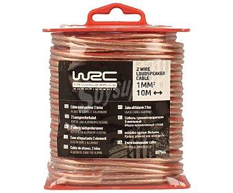 WRC Cable de altavoz de 10 metros y 1 mm de grosor