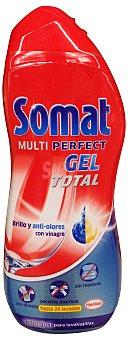 Somat Detergente lavavajillas gel anti-olores Bote 650 cc (26 lavados)