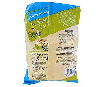 Nackis Bicentury Mini Tortitas Aceite y Sal 70 Gramos