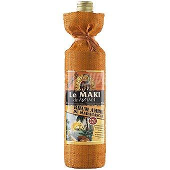 LE MAKI DE DZAMA Ron ambré de Madagascar Botella 70 cl
