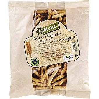 Monti Colines de pan integrales con sésamo ecológicos Bolsa de 200 g