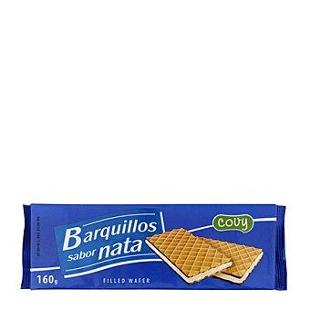 Covy Barquillos sabor nata 160 g