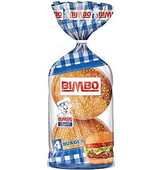 Bimbo Bocatas burger 4 unidades