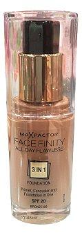 Max Factor Maquillaje fluido face finity Nº 80 bronze 30 cc
