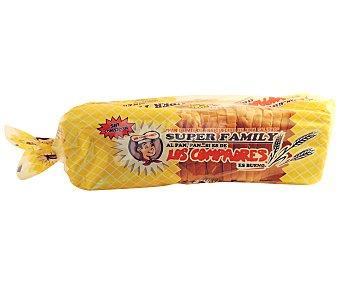 Los Compadres Pan de Molde Super Grande 1 kg