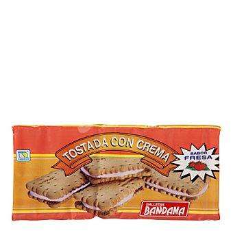 Bandama Galletas tostadas con crema sabor fresa 200 g