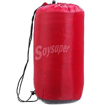 RUNFIT Basik 20 Saco de dormir rojo para temperaturas suaves