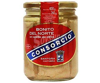Consorcio Bonito del norte en aceite de oliva Tarro 260 g neto escurrido