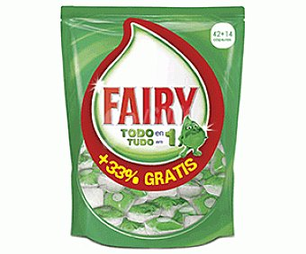 Fairy Lavavajillas Ultra Caps Original 42+14d