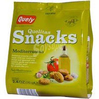 Quely Snacks mediterránea Paquete 70 g