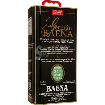 GERMAN BAENA aceite de oliva virgen extra  lata 5 l