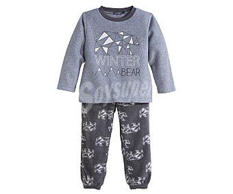 In Extenso Pijama polar largo de niño talla 6