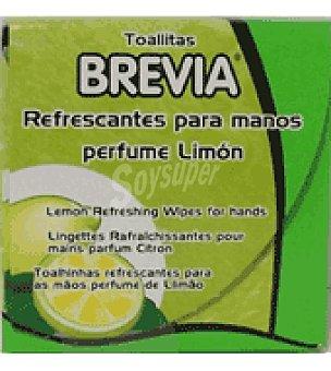Brevia Toallitas manos limon 20 ud